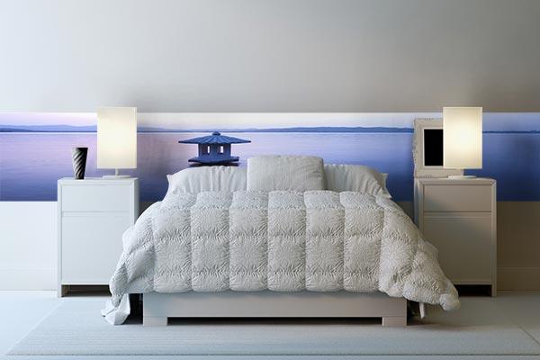 mon futur chez moi : projet pour la chambre Papier-peint-photo-quietude