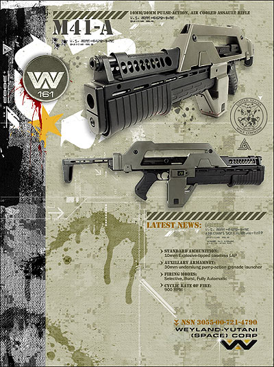 Review M41A pulse rifle (Snow Wolf) M41apostgp2