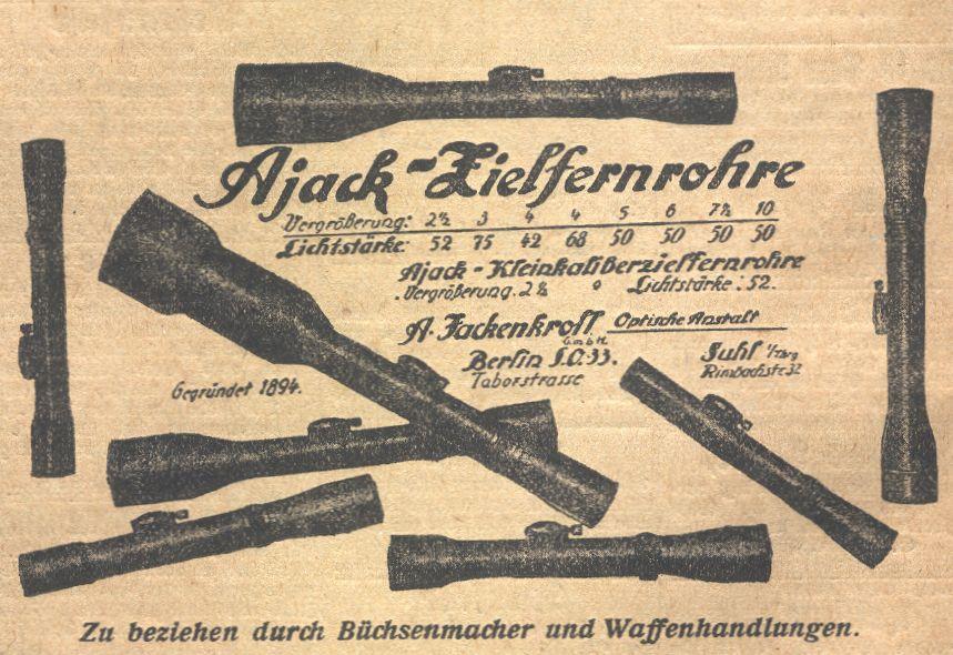 L'arme du tireur d'élite allemand de la wehrmacht (1939-1945) : Mauser 98K Ajack1921