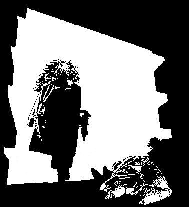 Le monde merveilleux des illustrateurs - Page 2 FrankMillerStrip