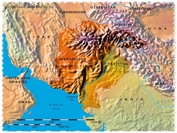 ASHRAF GHANI PRESIDENT!!! - Page 2 Afganmap