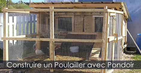 Construire un Poulailler québécois quatre saisons Poulailler-avec-pondoir