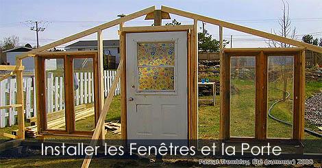 Serre de Jardin - Étapes de construction détaillées Fenetre-porte-pour-serre