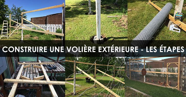 Volière extérieure - Résumé de mes étapes de construction Construire-voliere-etapes