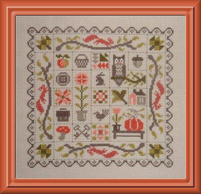patchwork d'automne de jardin privé FT17