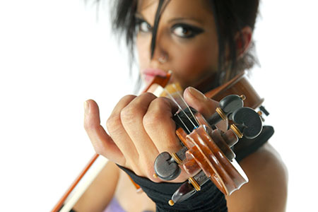 The fate of a violin player is in their pinky! Violin176v2blog