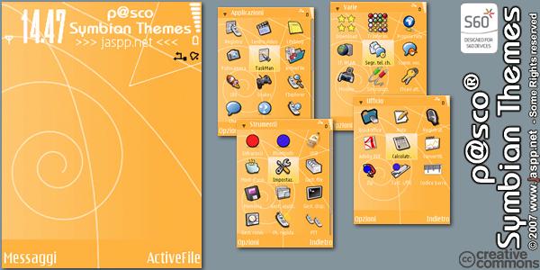 Nokia N95 Temaları OrangeDreamByP%40sco