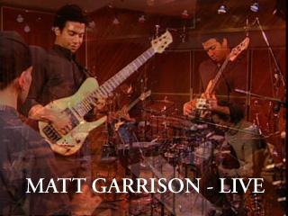 Matt Garrison MGtitle