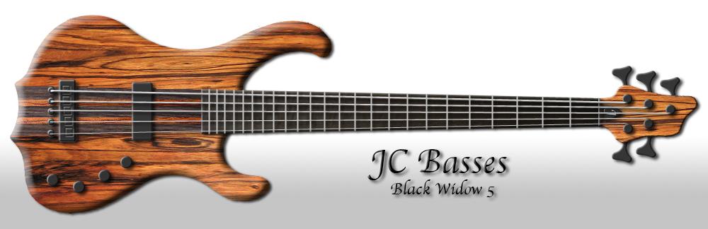 Baixos Modelo - JC Basses Blackwidow51