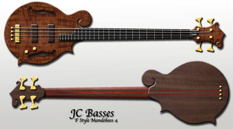 Baixos Modelo - JC Basses Mandobass1
