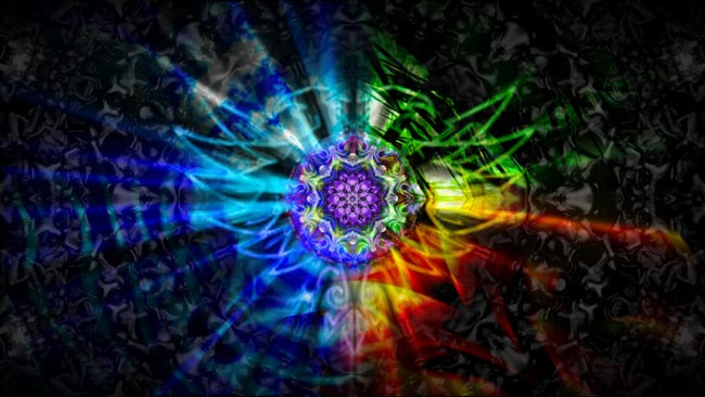 Studies show we can heal with sound, frequency and vibration Elements-mandala