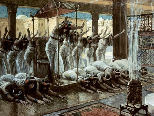 The United States of the Solar System: A.D. 2133 (Book Two) - Page 18 Tissot-queen-of-sheba-visits-solomon-600x452