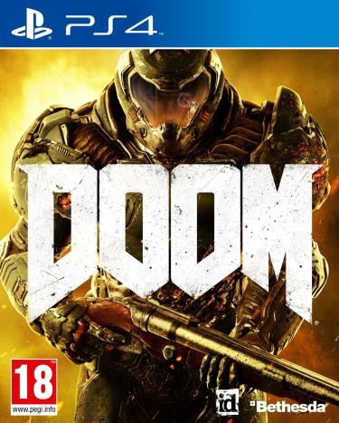 Doom 2016 [PC, PS4, Xone, Switch] Jaquette-doom-4-ps4-cover