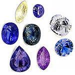 Каталог минералов и месторождения Saphire2