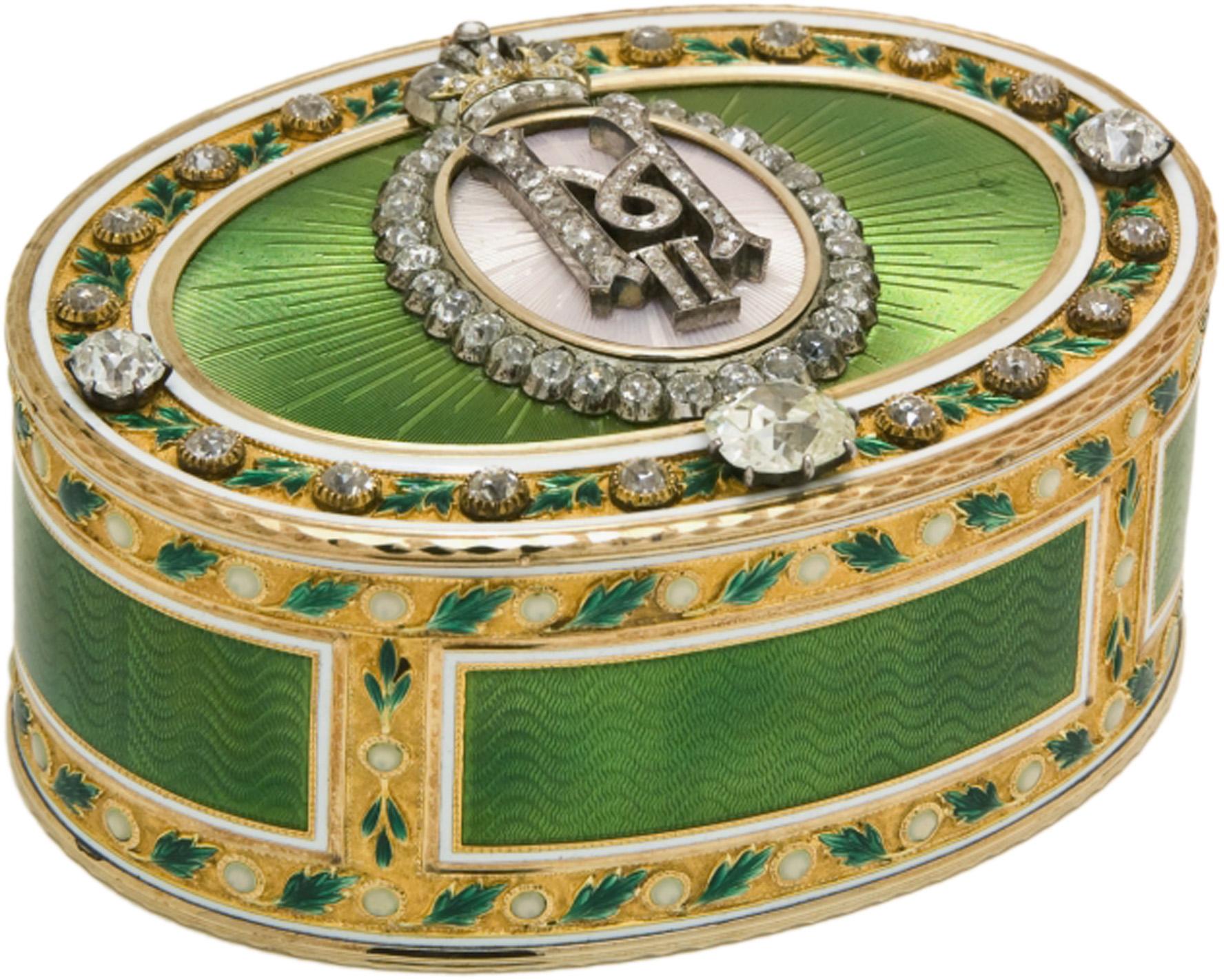 Faberge – sinonim za luksuz - Page 3 Imperial-Presentation-Box-by-Faberge-workmaster-Mikhail-Perkhin-St.-Petersburg-1899-1908.