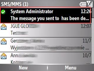 [Logiciel] SMS Reports Eraser Screen1