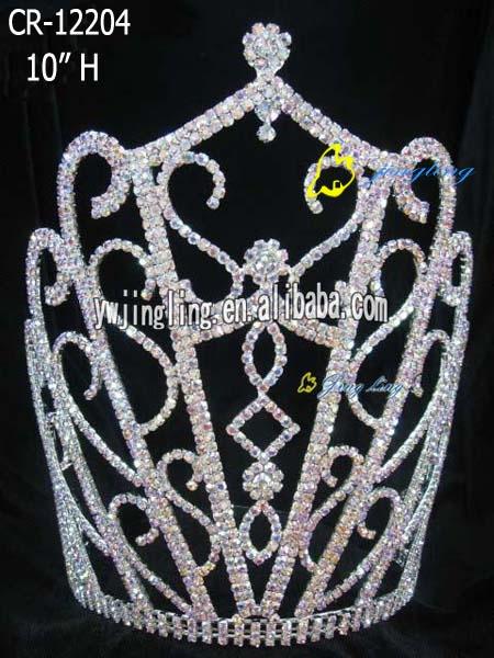 تيجان ملكية  امبراطورية فاخرة Big-special-style-tiara-pageant-crown