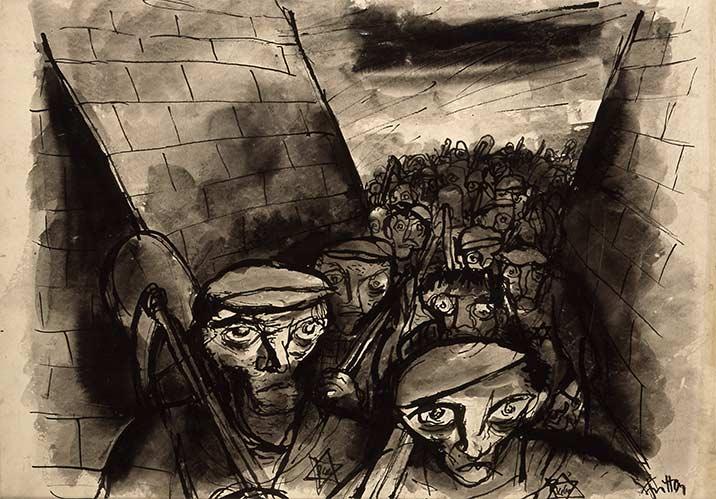 Un artiste en passant - Page 29 153-arbeitsantritt