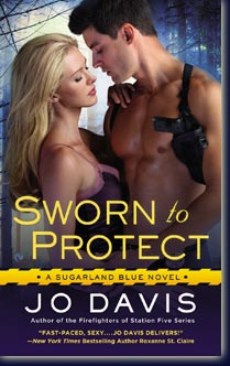 Sugarland Blue Tome 1 : Sworn to protect de Jo Davis Book_sworn