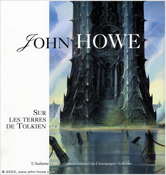 HOWE John - Sur les terres de Tolkien Frenchcover_terre-tolkien