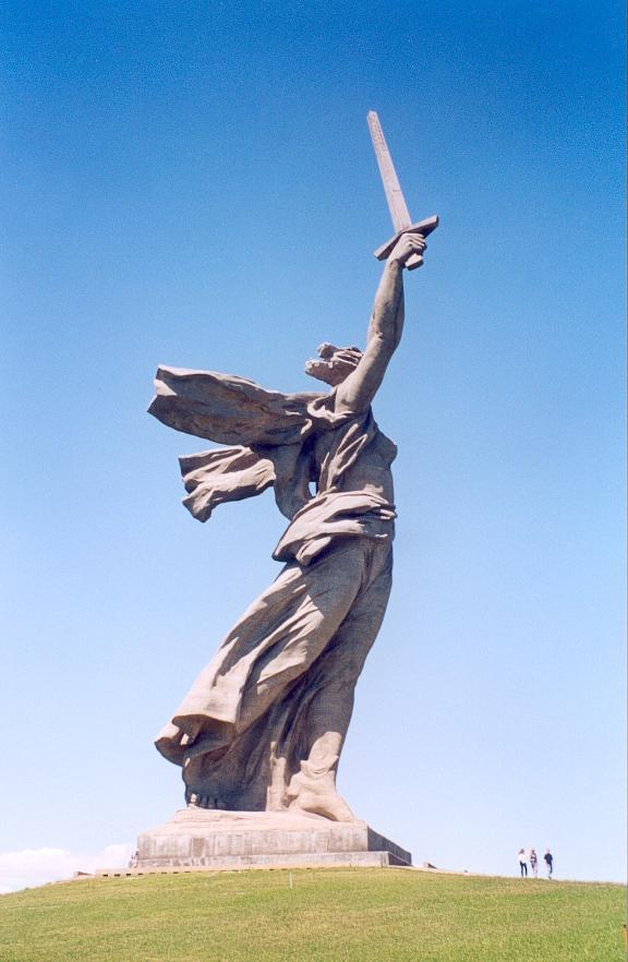 Споменици  MotherRussia