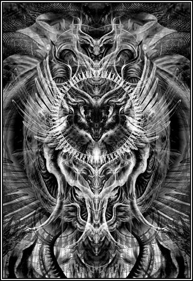 Divinité: Shub-Niggurath ,  le bouc noir des bois aux mille chevreaux Shub