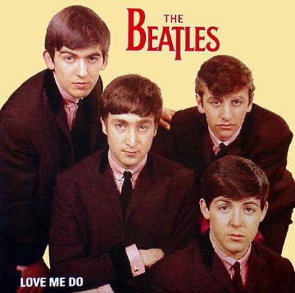 Beatles Galería Love-me-do