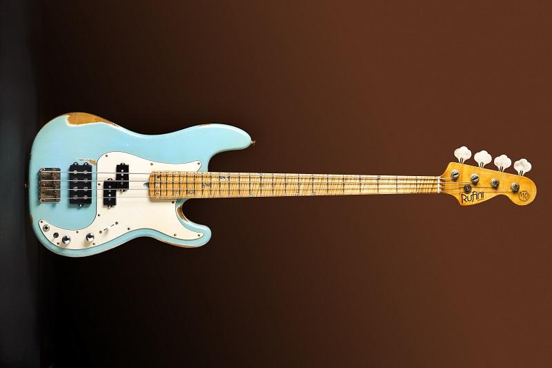 Porque é tão difícil achar P-bass, 24 frets, 5 cordas? Front