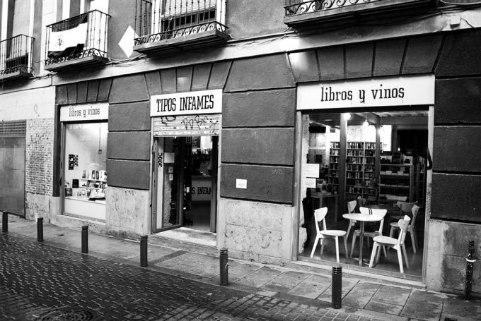 Librerias con encanto I: Tipos Infames (Madrid) TI1