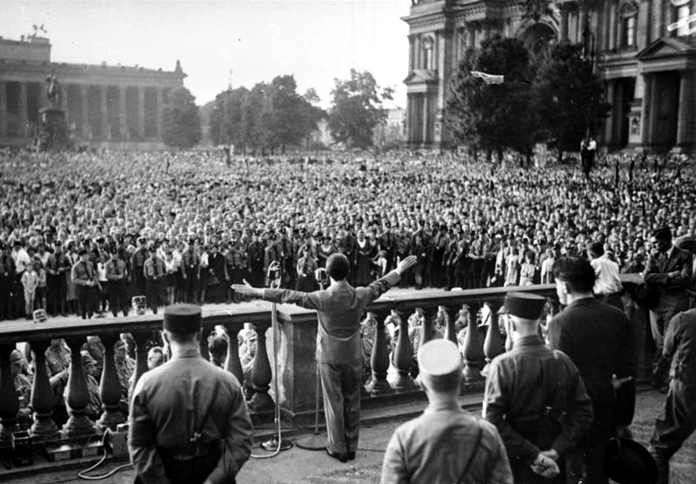 La propaganda de Goebbels durante la II Guerra Mundial Goebbels