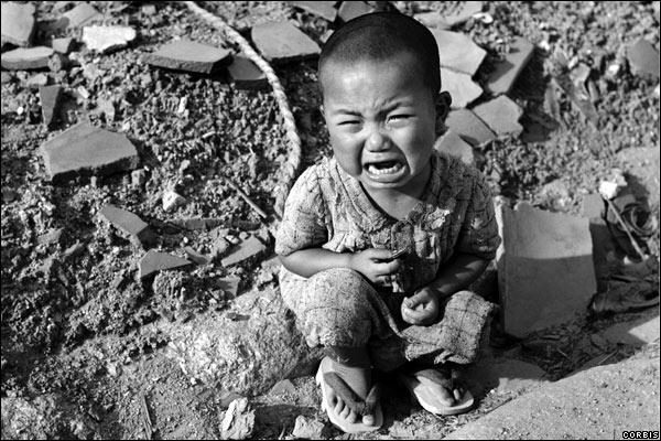 Asi fue sobrevivir a Hiroshima Llorando
