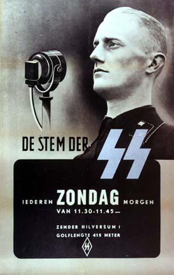 La propaganda de Goebbels durante la II Guerra Mundial P%C3%B3ster-SS