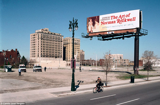 Detroit: así se hundió el Titanic del capitalismo estadounidense Woodward-Avenue