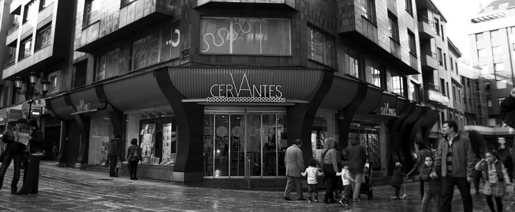 Librerias con encanto XII: Cervantes (Oviedo) Fachada-2-1024x422