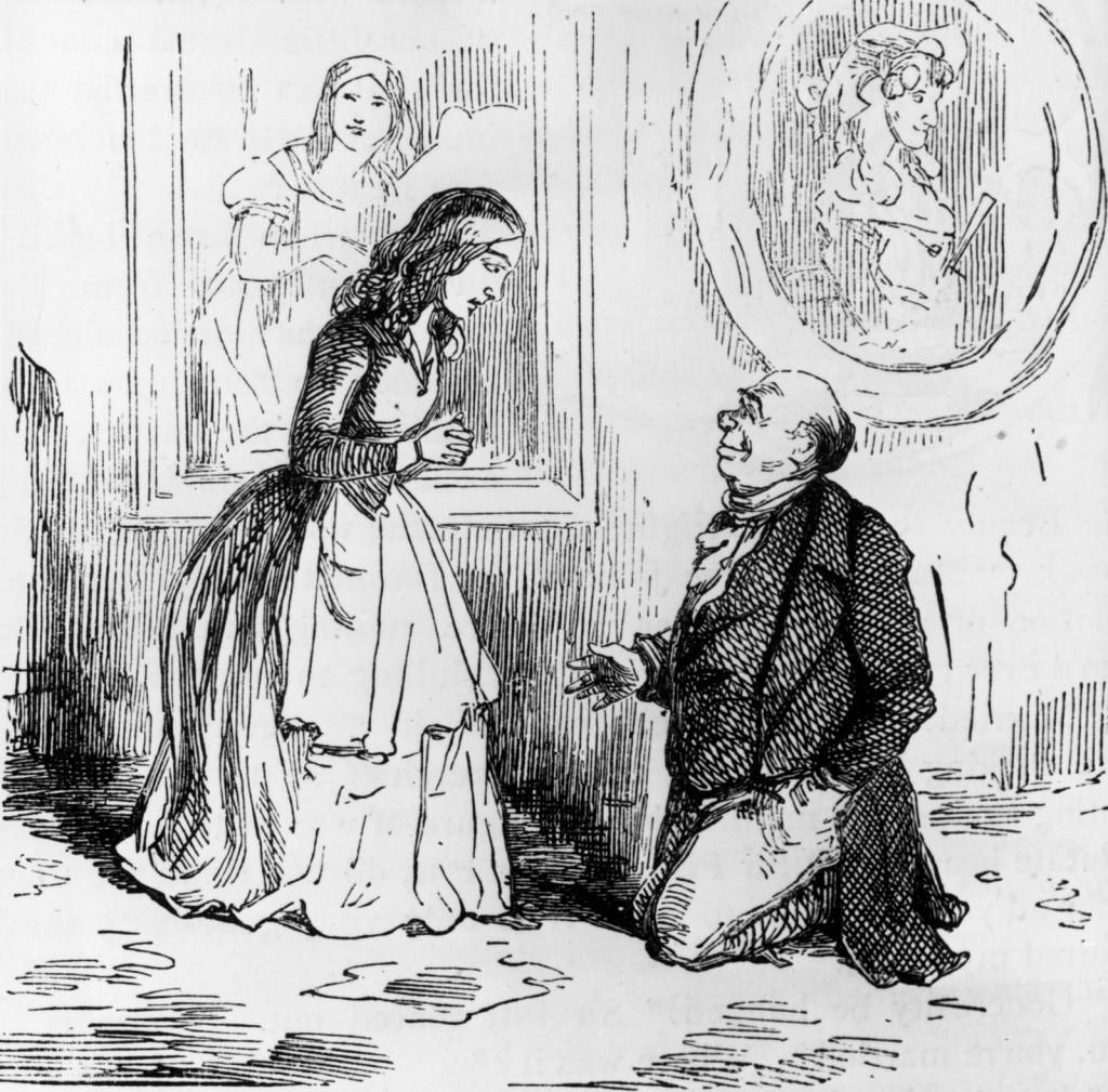 William Thackeray, 150 años muerto Ilustraci%C3%B3n-de-William-Makepeace-Thackeraypara-su-novela-La-feria-de-las-vanidades-Hulton-Archive-1024x1009