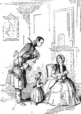 William Thackeray, 150 años muerto Ilustraci%C3%B3n-de-William-Makepeace-Thackeraypara-su-novela-La-feria-de-las-vanidades-Hulton-Archive-2