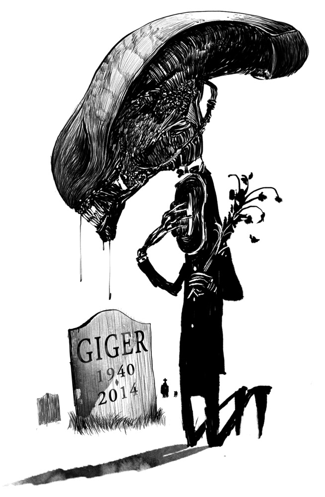 Muere Hans Ruedi Gieger, el creador de Alien Alien