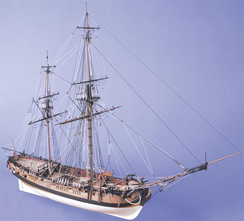 Pas à pas: Hune de grand-mat HMS GRANADO en modelisme d'Arsenal Granado_Const078_lrg