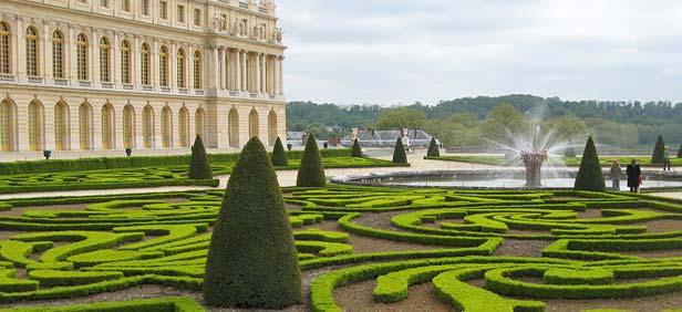 Francuska Versailles-garden-france