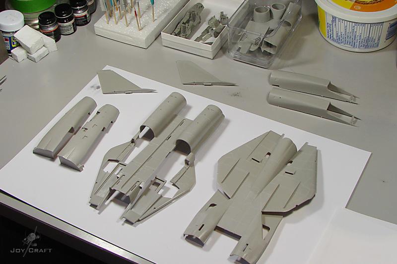 F-14 TOMCAT 1/48 --Montage en commun :Joycraft et Domi --The end WIP_F-14A_001