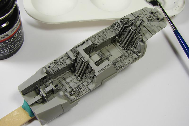 F-14 TOMCAT 1/48 --Montage en commun :Joycraft et Domi --The end WIP_F-14A_031