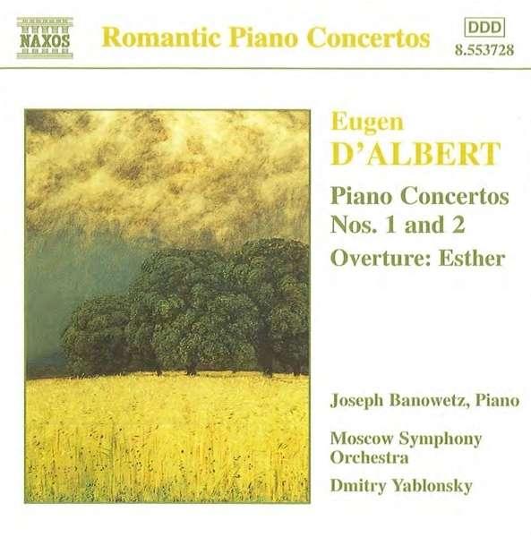 Eugen d'Albert (1864-1932) 0730099472821