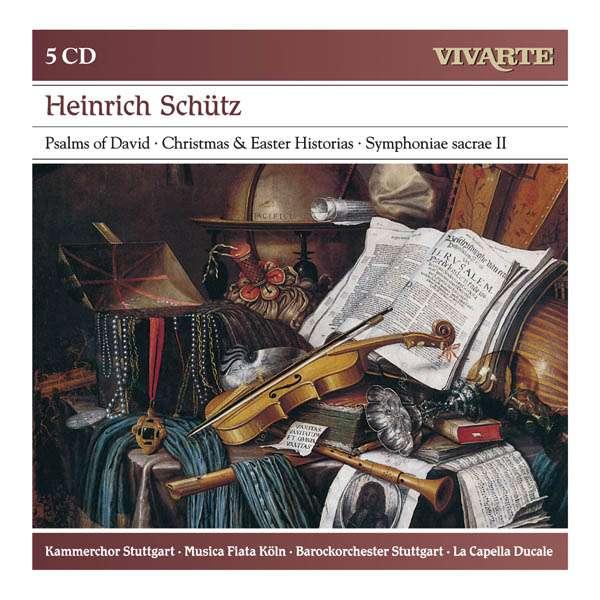Heinrich Schütz (1585-1672) 0886979645028