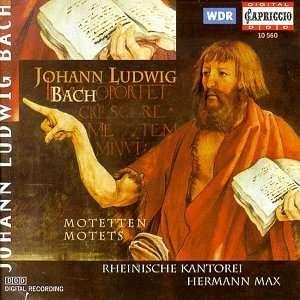 bach - Johann Ludwig BACH (1677 - 1731) 4006408105602