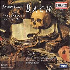 bach - Johann Ludwig BACH (1677 - 1731) 4006408108146