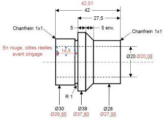 Entretoise dans le moyeu arrière Entretoise_900Z1_mesures_pre_zinc