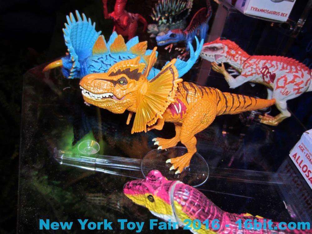 Jurassic World and JW Hybrids Lines Tfdilorex