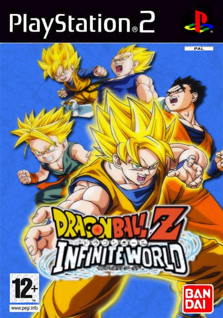 PS2 - Dragon Ball Z Infinite World Dragon-ball-z-infinite-world-ps23