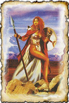 Греческий пантеон богов Afina