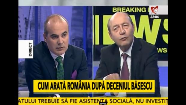 În studioul Realitatea TV Băsescu S-A DEZLĂNTUIT în direct Basescu-la-realitatea-620x350